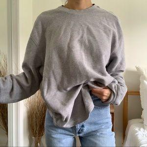 Reebok Gray Sweatshirt Hoodie